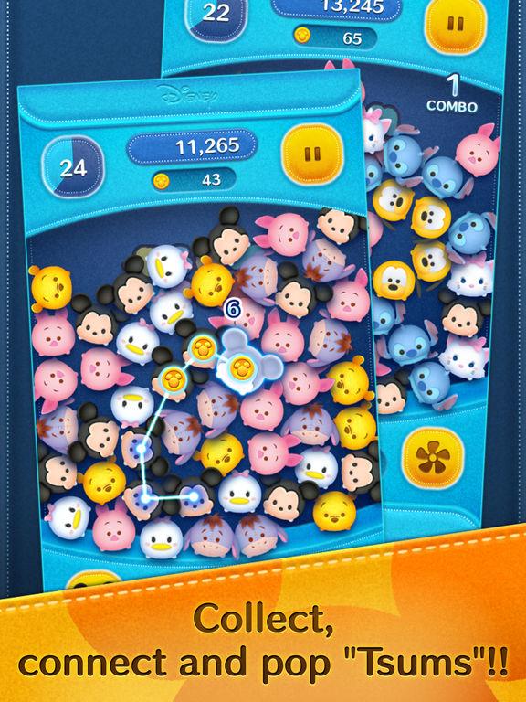 Screenshots of LINE: Disney Tsum Tsum for iPad