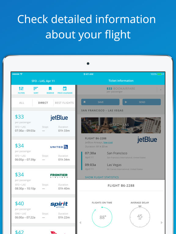 JetRadar - Compare Flight Fares screenshot