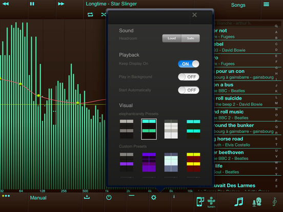 EQu - the quality equalizer iPad Screenshot 1