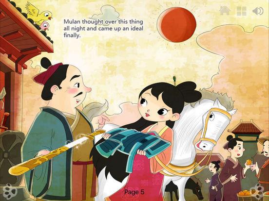 iBigToy Interactive Book-Hua Mu-Lan HD Lite iPad Screenshot 2