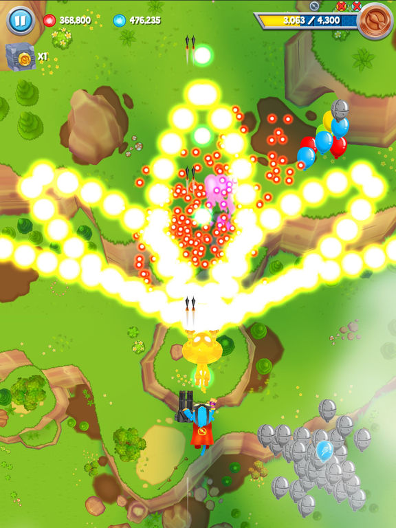 Bloons Supermonkey 2 на iPad
