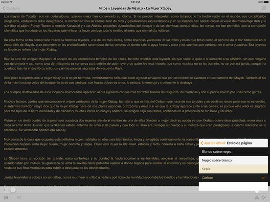 Mitos y Leyendas de México iPad Screenshot 2