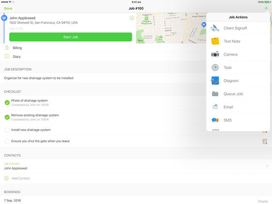 ServiceM8 iPad Screenshot 4