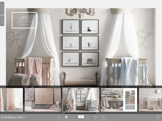 App shopper restoration hardware baby child catalogs for Restoration hardware online shopping