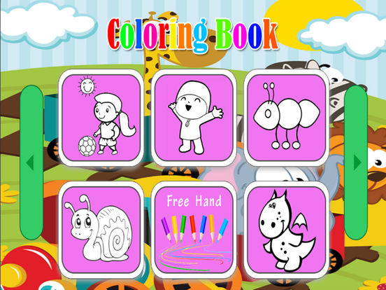Мультфильмы Книжка-раскраска для ребенка Скриншоты8