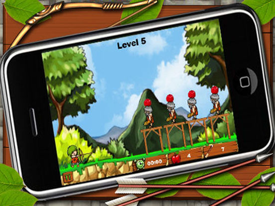 Bowmaster Apple Shooter - Free archery games