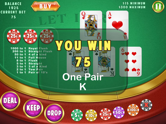 online roulette casino poker 4 of a kind