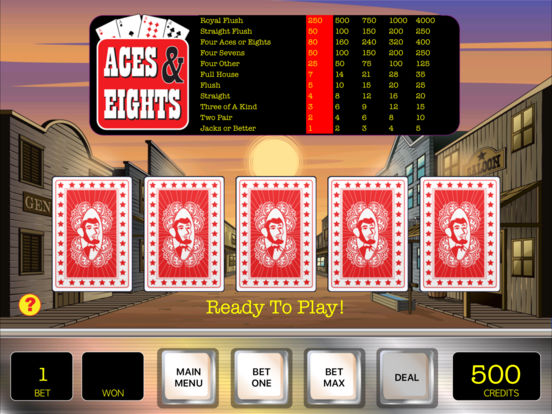 Penny Poker iPad Screenshot 4