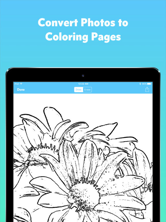 Coloring Pages App For Ipad : App shopper lorelai create your own coloring pages