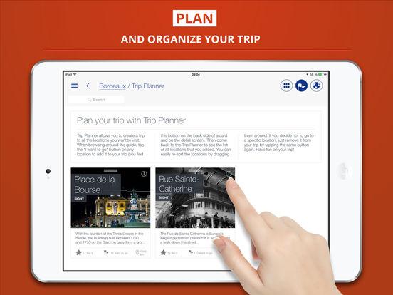 Bordeaux Guide de Voyage iPad Screenshot 3