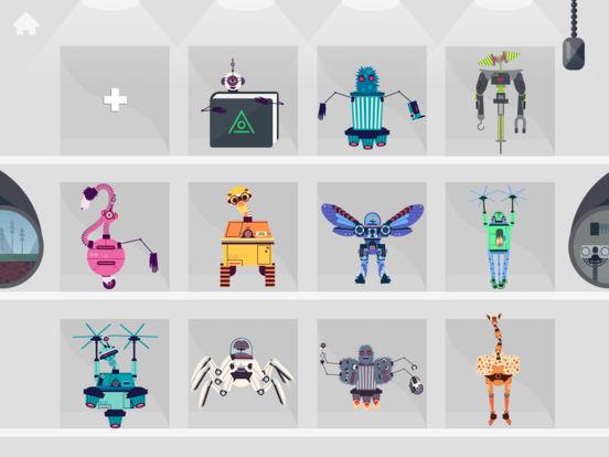 Фабрика роботов от Tinybop Screenshot