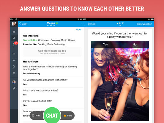 Meetville - Chat Dating App for Hot Local Single Men and Women screenshot