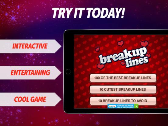 100 Breakup Lines iPad Screenshot 1