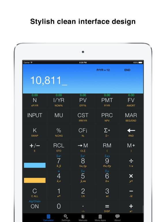 App Shopper 10bii Financial Calculator By Vicinno Finance