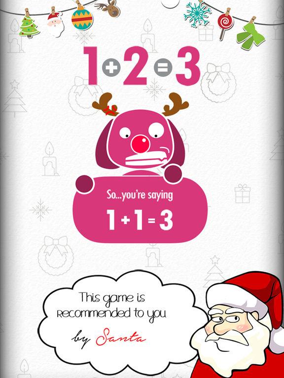 Screenshots of 1+2=3 for iPad