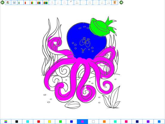 Coloring Book for iPad iPad Screenshot 3