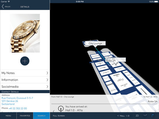 BASELWORLD – Guide for the Watch and Jewellery Show 2011 iPad Screenshot 3