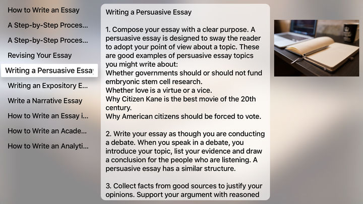 a good narrative essay topic Thesis statements and topic sentences good topic sentences can improve an essay's readability and organization weak narrative topic sentence.