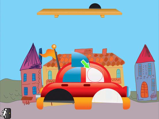Tozzle Lite - Toddler's favorite puzzle iPad Screenshot 1