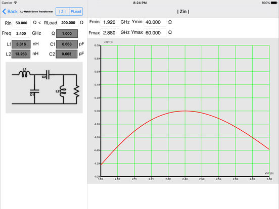 Impedance Match iPad Screenshot 3