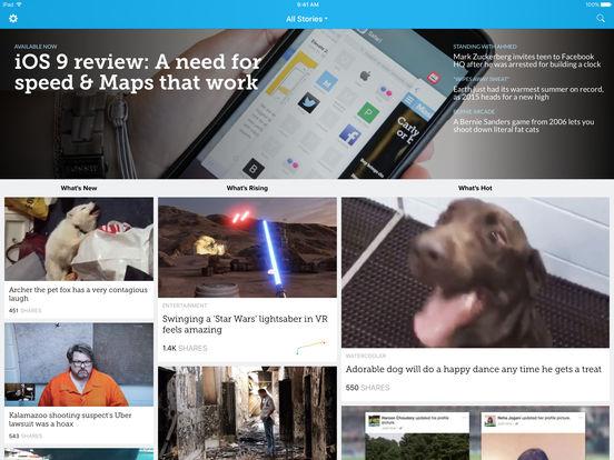 Mashable Screenshot