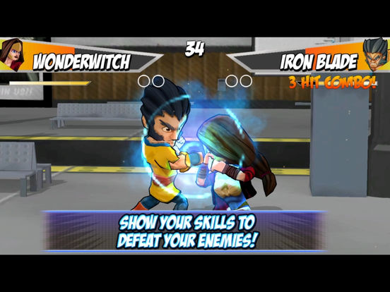 Superheros 2 Free fighting games screenshot