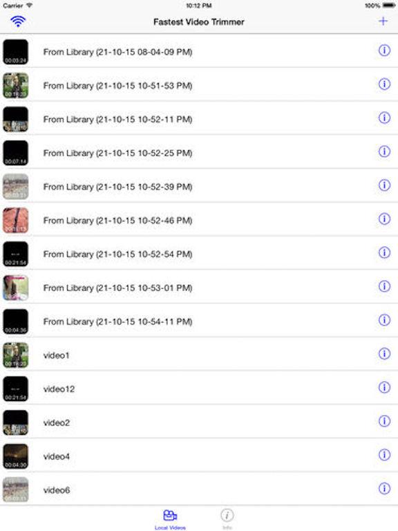 Fastest Video Trimmer Premium Screenshots