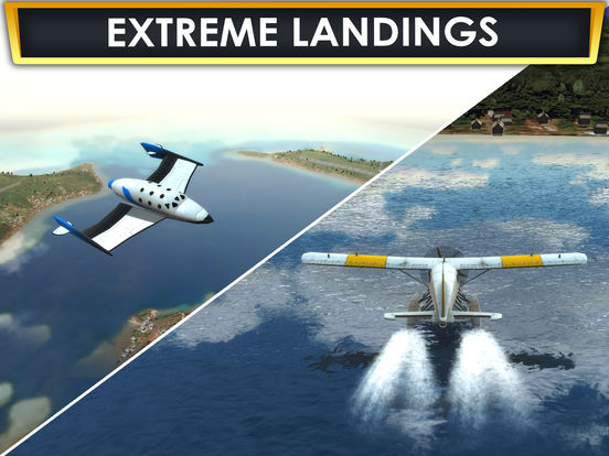 Plane Flying Parking Sim a Real Airplane Driving Test Run Simulator Racing Games screenshot