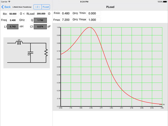 Impedance Match iPad Screenshot 2