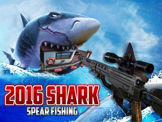 2016 Shark Spear-Fishing Adventure- Fish hunter Sports in Deep Sea-ipad-0