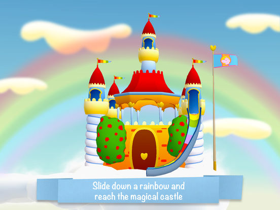 Unicorn Glitterluck - Rainbow Adventure for kids Screenshots