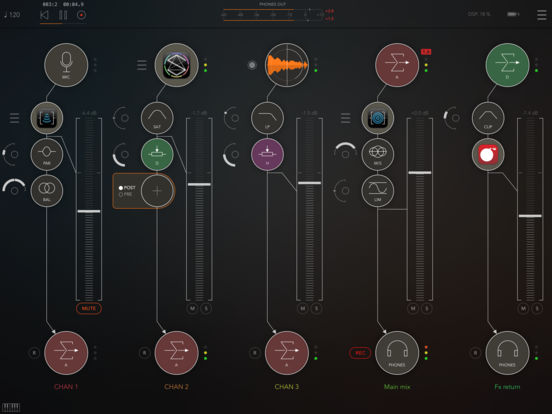 AUM - Audio Mixer screenshot