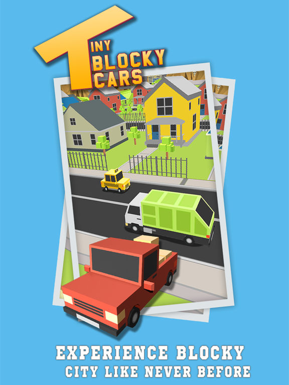 Tiny Blocky Cars screenshot 8