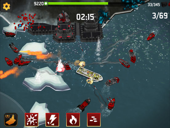 #1. Fortress: Destroyer (iOS)