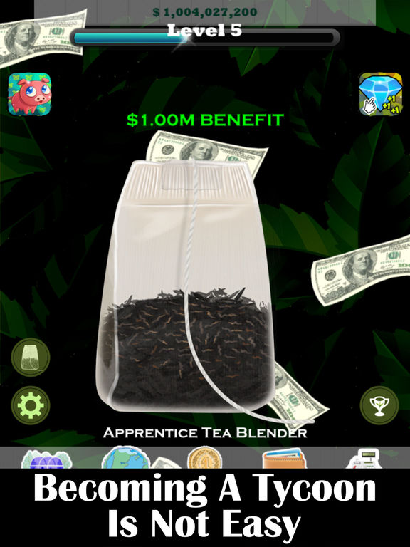 Screenshots of Tea Sheikh - Run An Undercover Management Firm and Become A Landlord Tycoon Game for iPad