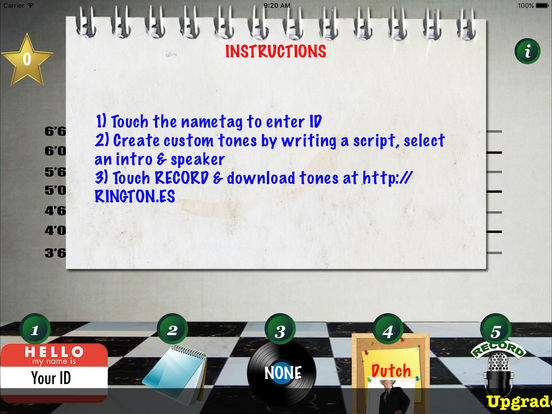 9,999 Ringtones Uncensored USA Voices Ringtone Creator iPad Screenshot 4