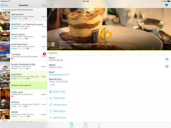Swiss Phone Book iPad Screenshot 2