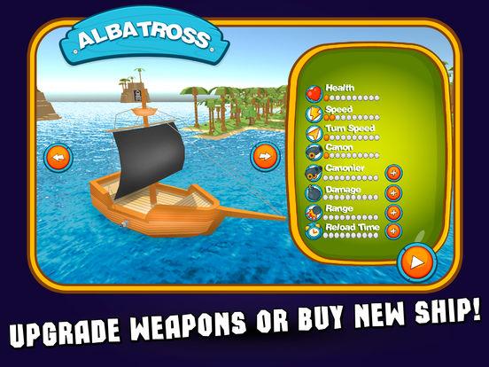 Pixel Pirate Ship Simulator 3D Full screenshot 7