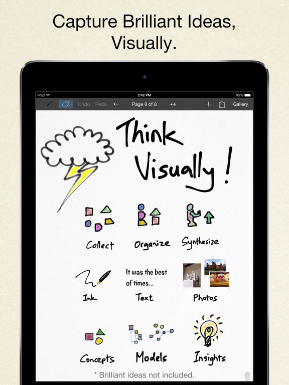 Inkflow Plus Visual Notebook screenshot