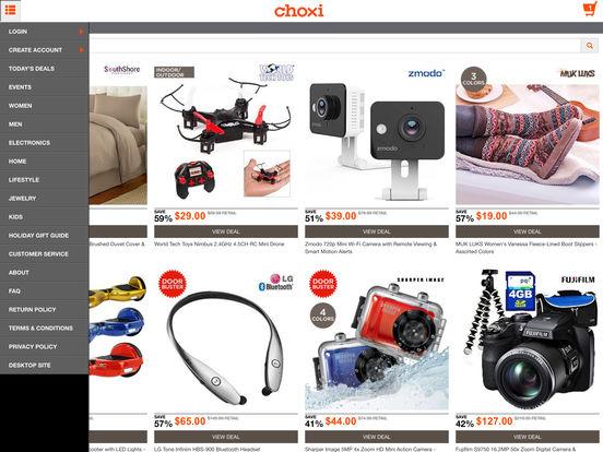 Choxi discount coupons