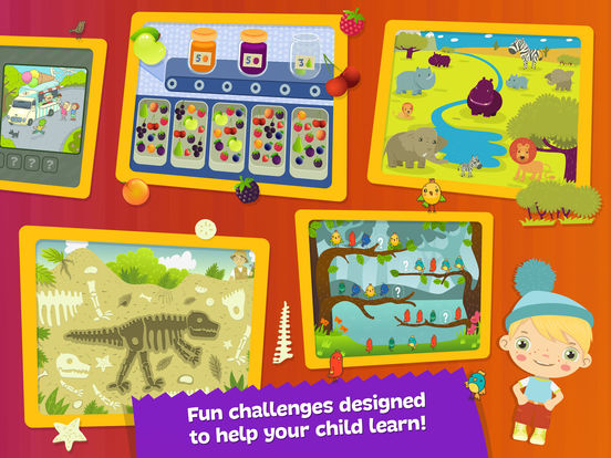 Boombons: play kids magazine - fun interactive educational games for childrenscreeshot 4