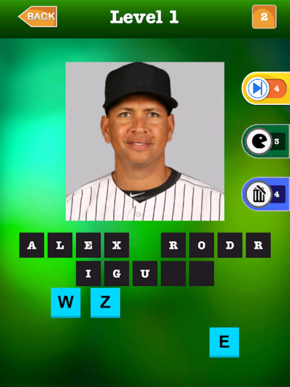 Baseball Star Trivia Quiz pro - Guess The Name Of Major Players screenshot