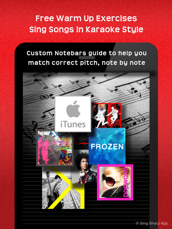 Sing Sharp, Learn to Sing – Vocal Exercise, Warm-Up, Ear Training, and Singing Lesson screenshot