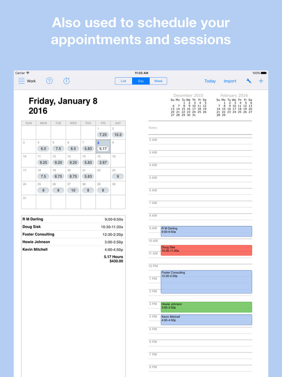 Workbox Accounting - Invoice Clients And Manage Time & Expense screenshot