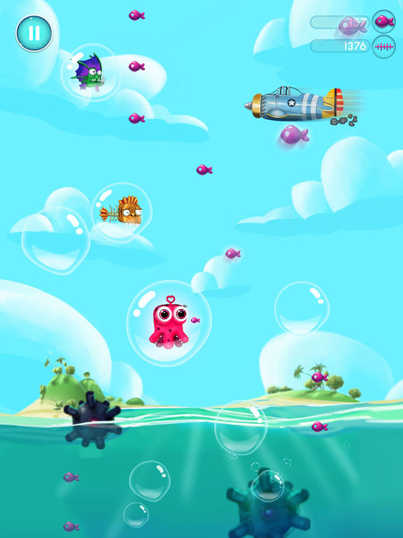 Jelly Fish Bubble для iPad