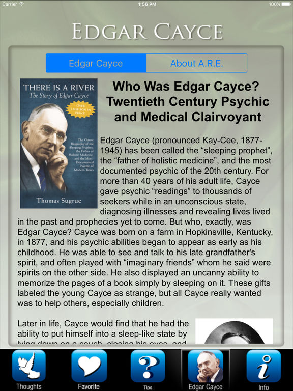 the life of edgar cayce the sleeping prophet