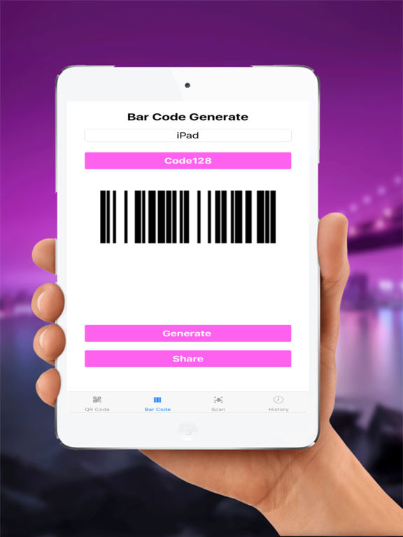 Scan QRCode ,Barcode and Create All Type Code Screenshots