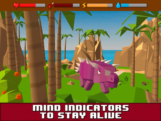 Dino Island Survival Simulator 3D Full Screenshots