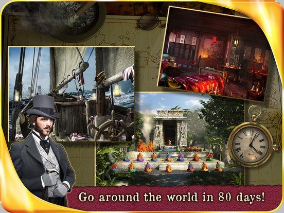 Around the World in 80 Days HD iPad Screenshot 3