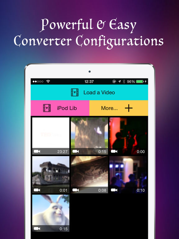 VConverter - The Best Video or Audio Converter Screenshots